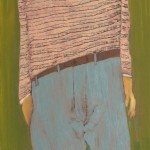 Figuur II, 2011, olie op linnen, 80 bij 40 cm., nr_ 110314, JPEG