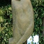 Frivool Raindropstone Hoogte Beeld 70cmMet sokkel 160cm