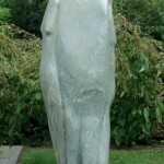 Lucky man Opal Hoogte beeld 83cm met sokkel 173cm