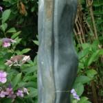 Reunie opal Hoogte beeld 64cm met sokkel 154cm