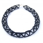 Triangle-necklace-black