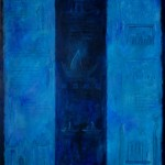 stroming - acryl op paneel - 150x110 cm