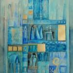 unvollendete - aquarel - 105x75 cm