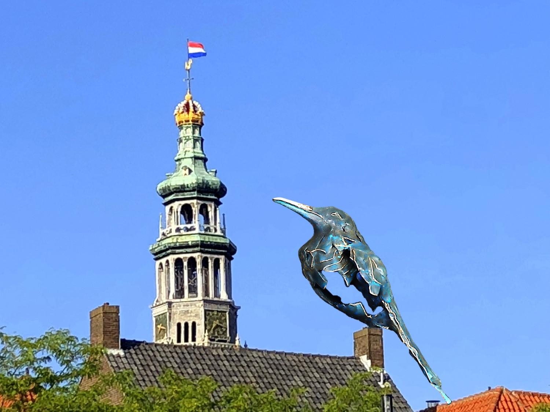 Blauwe MusLukt in Middelburg